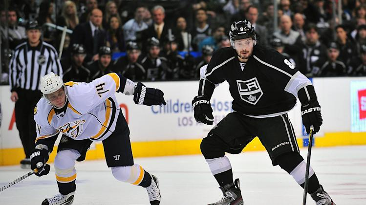 NHL: Nashville Predators at Los Angeles Kings