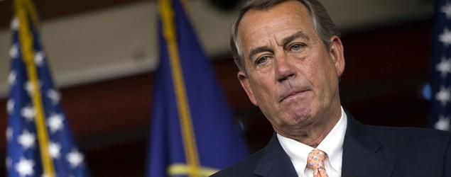 Unhappy conservatives move to oust Boehner