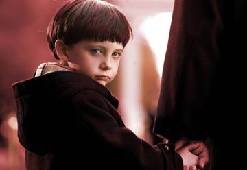 Seamus Davey-Fitzpatrick as Damien in 20th Century Fox's The Omen