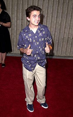 Premiere: Frankie Muniz at the Westwood premiere of 20th Century Fox's Dr Dolittle 2 - 6/19/2001