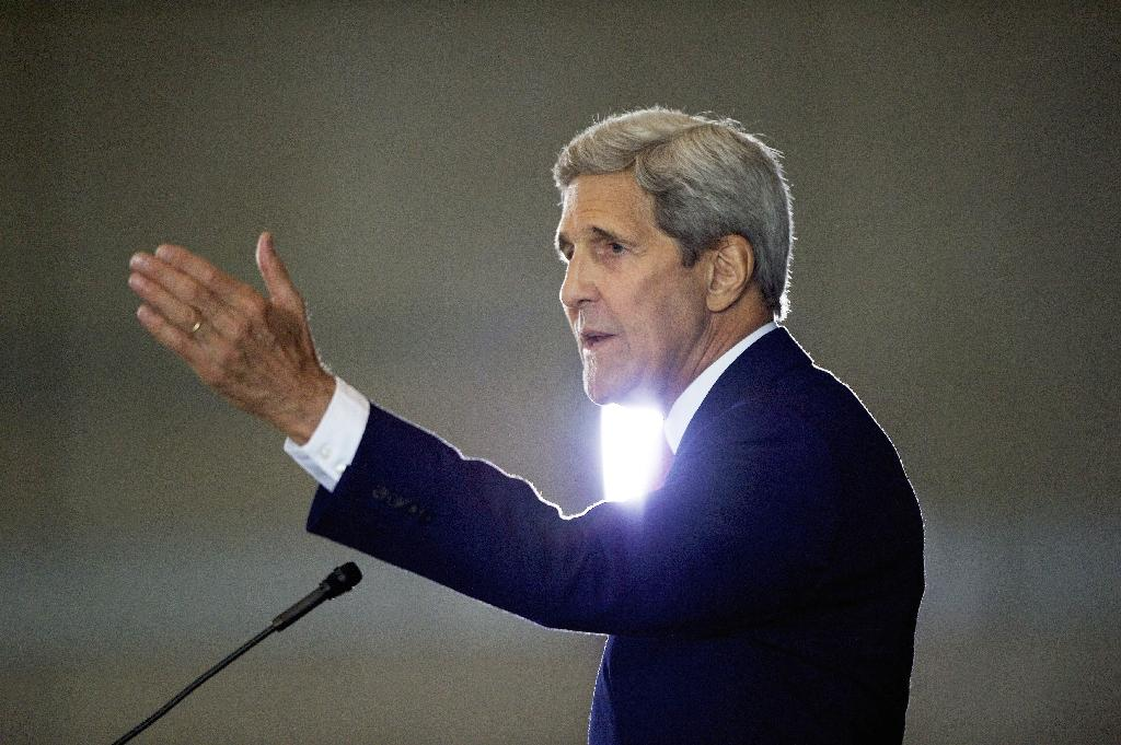 Kerry hopeful Israeli-Palestinian talks can be relaunched