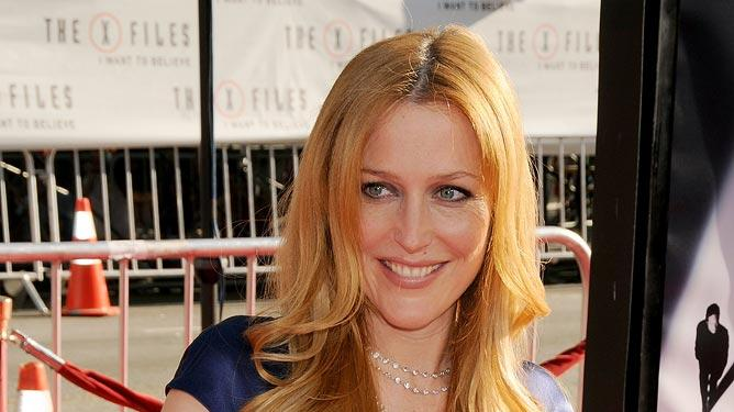 XFiles I Want to Believe Hollywood Premiere 2008 Gillian Anderson