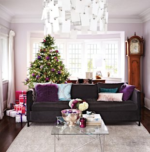 Gorgeous Toronto home decorated for the holidays