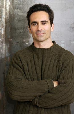 Nestor Carbonell Manhood Yahoo! Movies Portrait Studio Sundance Film Festival 1/23/2003