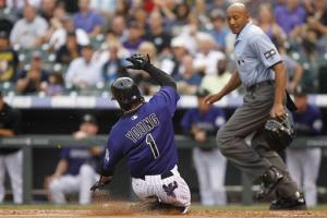LeMahieu's 4 hits leads Rockies past Brewers 9-6