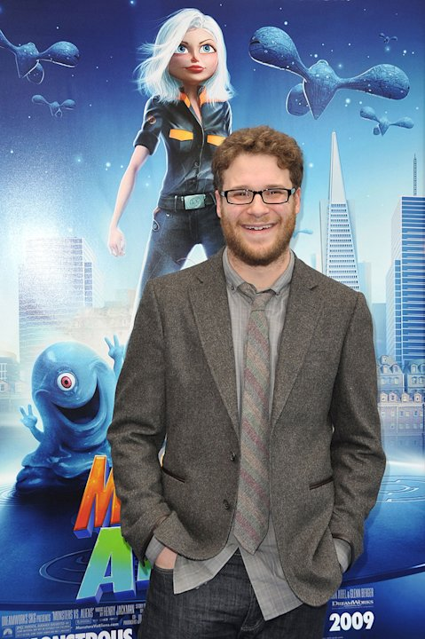 Monsters vs Aliens LA Premiere 2009 Seth Rogen