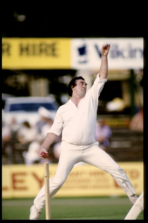 Fred Trueman of England and Yorkshire