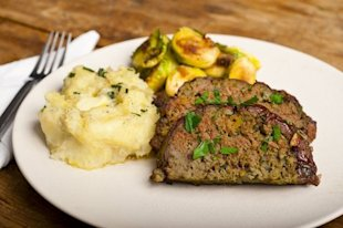 80/20 is the key to great homemade meatloaf.