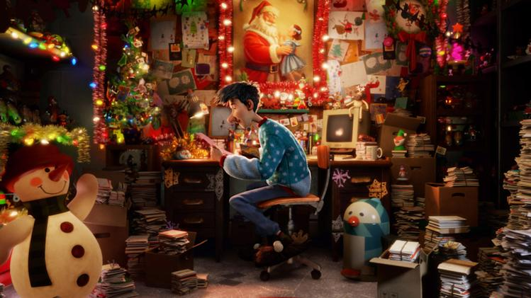 Arthur Christmas 2011 Columbia Pictures