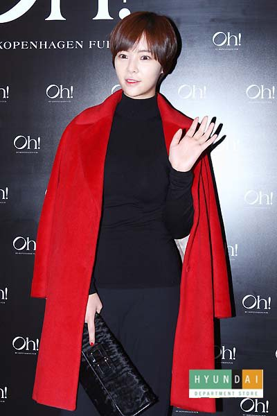Style Icon, Hwang Jung eum, boast a graceful and beautiful figure