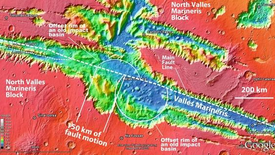 Mars Surface Made of Shifting Plates Like Earth, Study Suggests