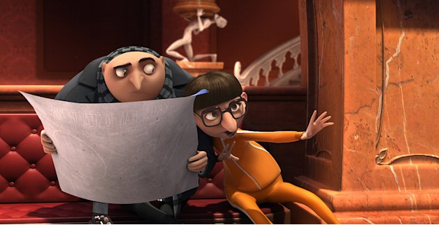 Despicable Me Universal Pictures 2010 Production Photos