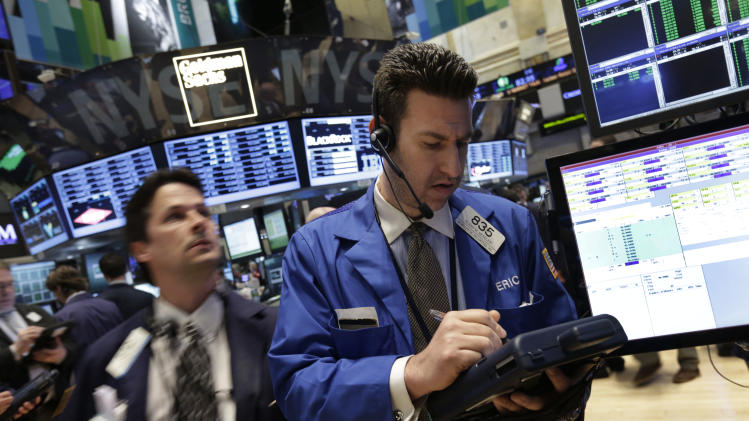 Stocks gain on earnings; fake tweet shakes stocks