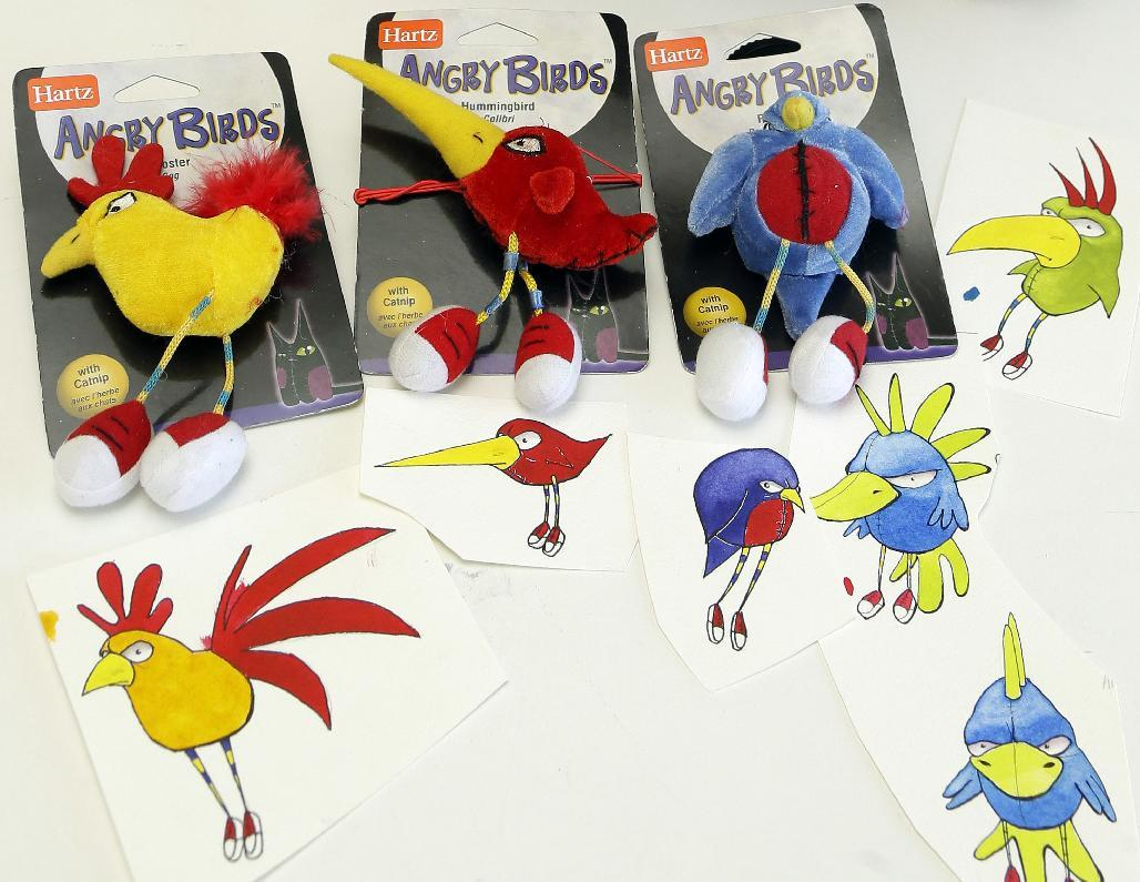 Artist's 'Angry Birds' lawsuit goes forward