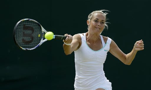 Williams' next Wimbledon opponent wins perfect set