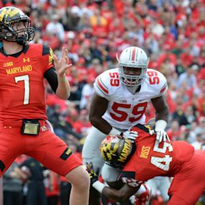 A.J. Francis Has Confidence In Maryland QB Caleb Rowe