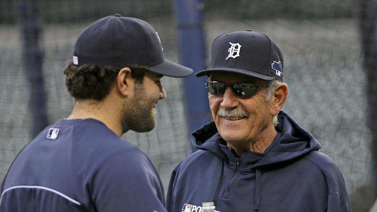 Leyland shakes up Detroit's lineup for Game 4