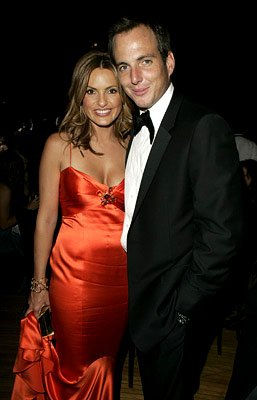 Mariska Hargitay and Will Arnett Governor's Ball Emmy Awards - 9/18/2005