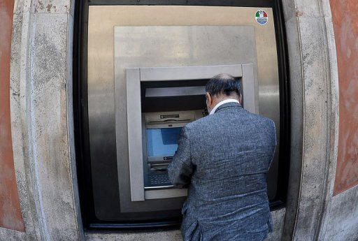 &lt;p&gt;A man takes money from a cash dispenser in Rome. Leading European banks are broadly on track for boosting their capital base to cushion against crises and the total funds raised exceed the target, the EBA regulator said on Wednesday.&lt;/p&gt;