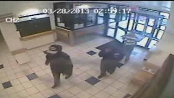 Surveillance video of Bronx armed robbery suspects