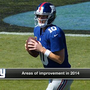 New York Giants quarterback Eli Manning: 'We gotta get better'