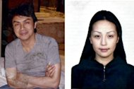 <p>An undated passport photograph of Mongolian woman Altantuya Shaariibuu (R) is seen beside an undated picture of Malaysian political analyst Abdul Razak Baginda (L). A scandal linking Malaysia's leader, a young woman's murder and alleged kickbacks in a French submarine deal has resurfaced as a potential danger for the government as elections loom.</p>