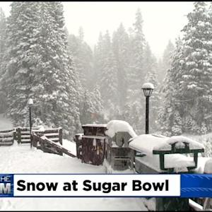 Winter Weather Returns To Sierra