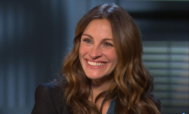 Julia Roberts chats with Access Hollywood at the 'Mirror Mirror' junket in Los Angeles on March 5, 2012 -- Access Hollywood
