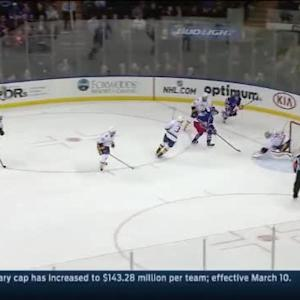 Pekka Rinne Save on Carl Hagelin (13:19/2nd)
