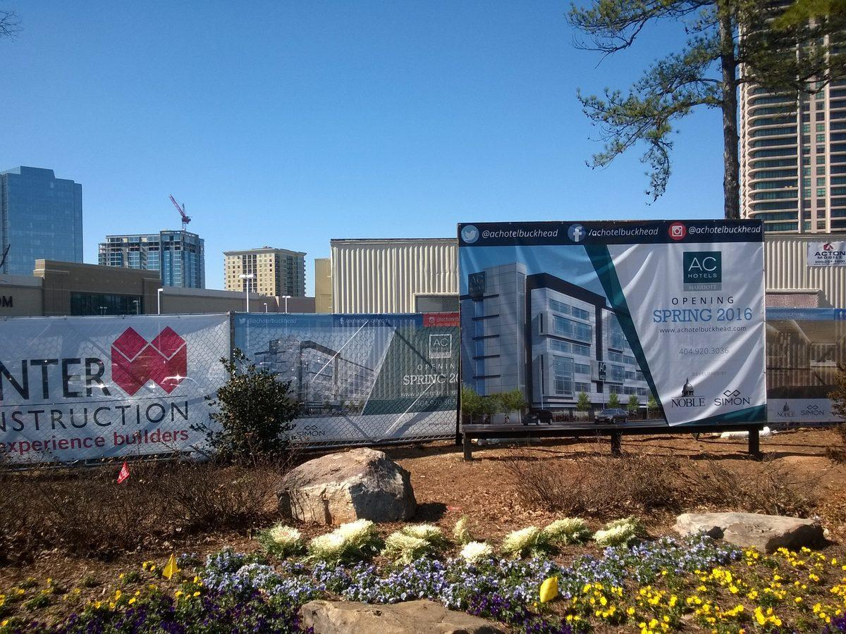 Crane Watch : In Photos: The Rapidly Changing Skyline of Buckhead