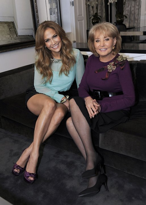 "Jennifer Lopez is interviewed by Barbara Walters for ""Barbara Walters Presents: The 10 Most Fascinating People of 2010."""
