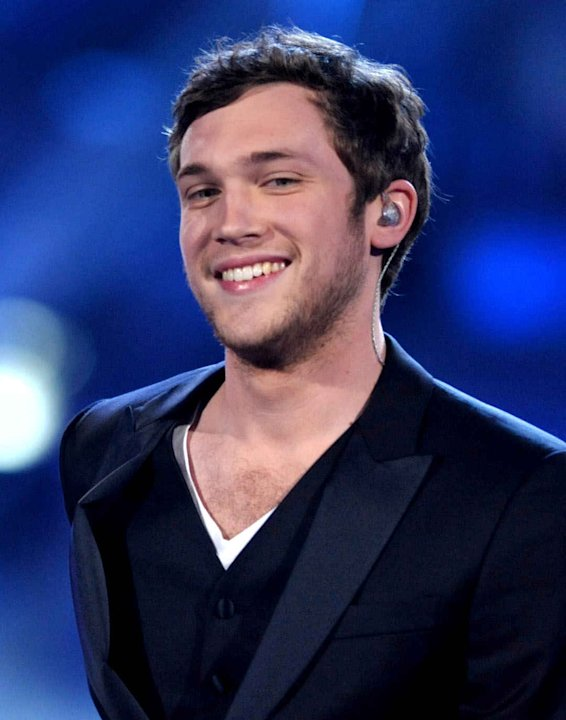 Winner Phillip Phillips appears onstage at the American Idol Finale on Wednesday, May 23, 2012 in Los Angeles. (Photo by John Shearer/Invision/AP)