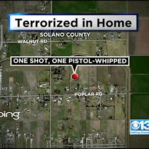 Masked Men Shoot 1, Pistol-Whip Another In Brutal Home Invasion Near Vacaville