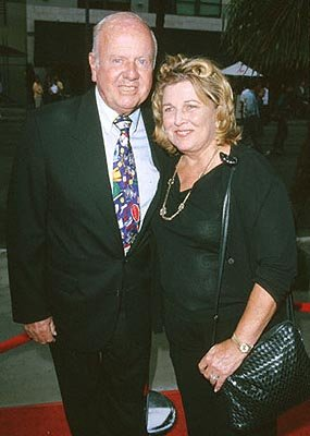 Premiere: Dick Van Patten with his wife at the Santa Monica premiere of Artisan's My 5 Wives - 8/28/2000