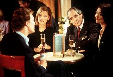 Matthew McConaughey , Michael Michele , Robert Klein and Shalom Harlow in Paramount's How To Lose A Guy In 10 Days