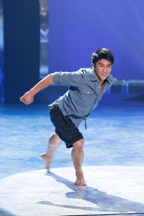 "Contestant Marko Germar performs a solo routine to ""More Than Anyone"" on ""So You Think You Can Dance."""