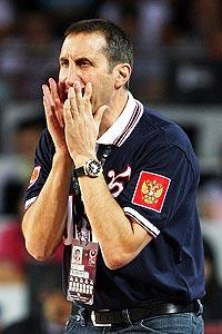 Russian coach fires back at Coach K