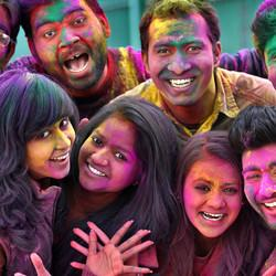The Festival Of Colors Welcomes Spring