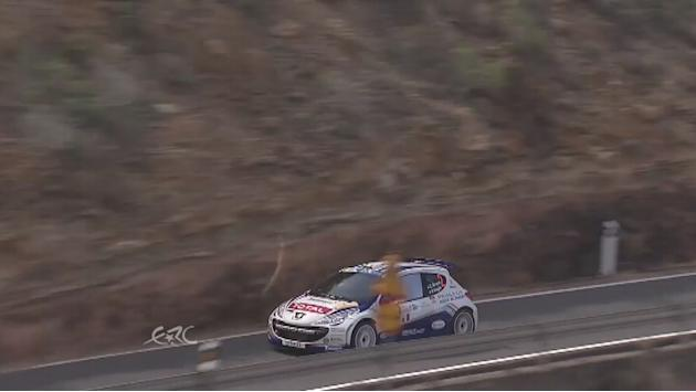 ERC CANARIAS long shooting for Craig Breen
