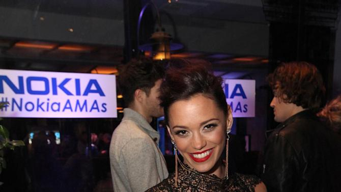 Jessica Sutta is seen at the Rolling Stone American Music Awards After Party, on Sunday, Nov. 18, 2012 in Los Angeles. (Photo by Casey Rodgers/Invision for Nokia/AP Images) **Please include any additional event details in the second sentence of the caption.