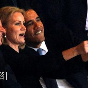 President Obama's selfie at Mandela memorial causes online stir