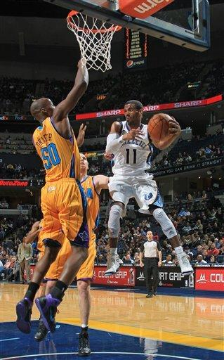 Gay, Gasol help Grizzlies overwhelm Hornets 108-99