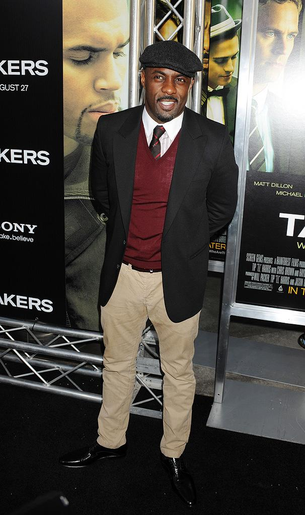 Takers LA Premiere 2010 Idris Elba
