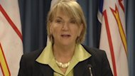 N.L. premier Kathy Dunderdale announces details of a settlement between the province and ExxonMobil