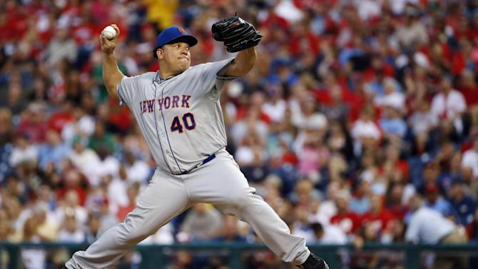 Colon gets 200th win as Mets beat Phillies 5-4