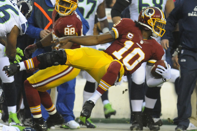 Robert Griffin III vs. Seattle Seahawks