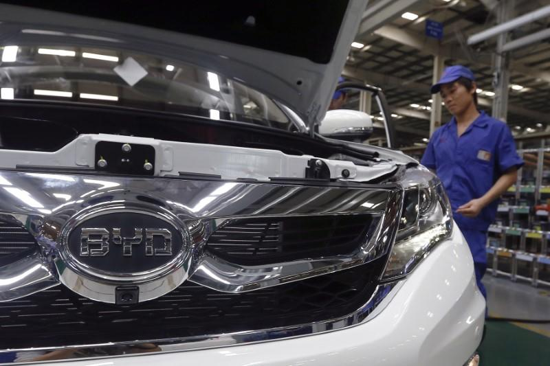 China's BYD plans to sell passenger cars in U.S. in 2-3 years: executive