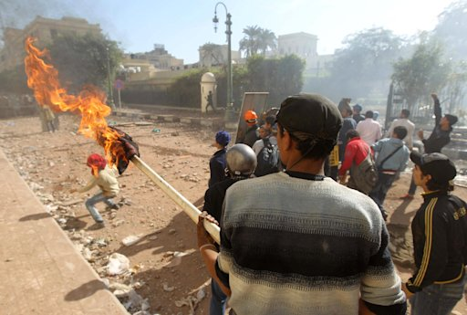 Egypt's prime minister accused the protesters of fighting a