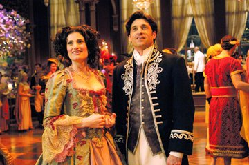 Idina Menzel and Patrick Dempsey in Walt Disney Pictures' Enchanted