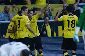 Borussia Dortmund 2-1 Eintracht Braunschweig: Late rally seals points for BVB